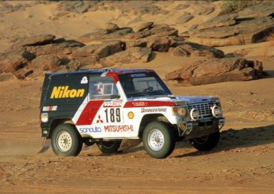 1985 Mitsubishi Pajero Paris-Dakar Rally Car