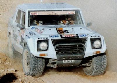 1995 Lamborghini LM002 Paris-Dakar