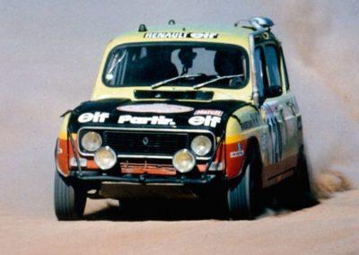 Bernard and Claude Marreau, Renault 4, Dakar Rally 1979