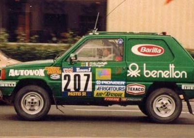 Fiat Panda 4X4, Nº207, Rally Paris-Dakar De Labriffe Devoyon