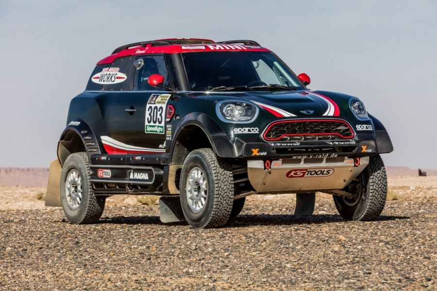 2017 MINI John Cooper Works Rally Image Credit: BMW Group
