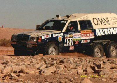 Mercedes 190 Dakar 1984 6x6