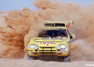 Paris Dakar 1991 Citroen ZX