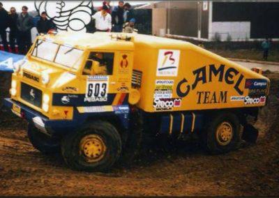 Pegaso 7222 Turbo Camel Team Dakar 1987