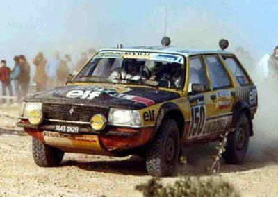 Renault 18 - Dakar 1983