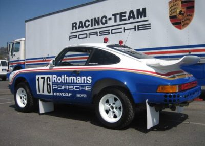 Rothmans Porsche 959 Dakar Rally Car