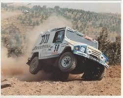 UMM Portuguese Car in 90's Paris Dakar