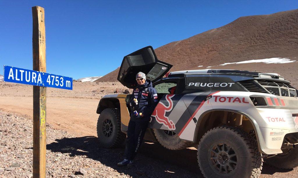 shakedown Peugeot Dakar 2017 3