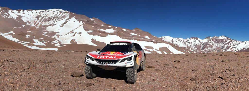 shakedown Peugeot Dakar 2017