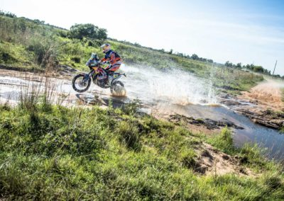© RED BULL MEDIA HOUSE Toby Price (AUS) of Red Bull KTM Factory Team races during stage 1 of Rally Dakar 2017 from Asuncion, Paraguay to Resistencia, Argentina on January 2, 2017.