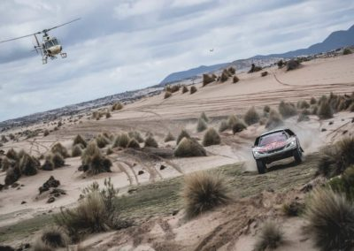 © RED BULL MEDIA HOUSESebastien Loeb (FRA) of Team Peugeot TOTAL races during stage 5 of Rally Dakar 2017 from Tupiza to Oruro, Bolivia on January 6, 2017  P-20170109-01519_HiRes JPEG 24bit RGB News