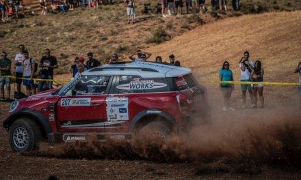 Baja de Aragón 2017: Hirvonen, Al Attiyah y Terranova lideran con 10 segundos de diferencia