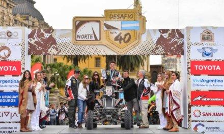 Jeremías González Ferioli se acostumbra a ganar en el Desafío Ruta 40 Norte