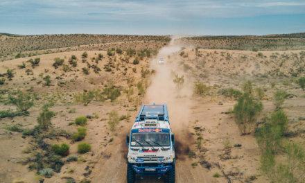 Silk Way Rally: Loeb y Sotnikov llegan líderes al descanso