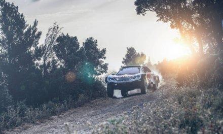 Peugeot presentó el nuevo 3008 DKR Maxi