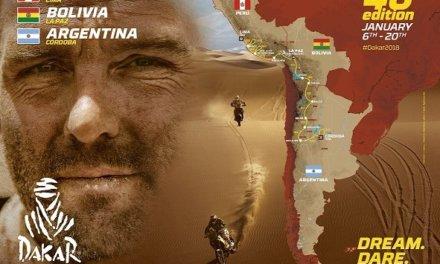 Presentación del Dakar 2018 en Argentina