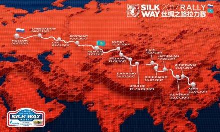 Presentaron recorrido etapa por etapa del Rally de la Seda 2017