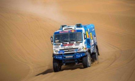 Silk Way Rally: Kamaz domina la etapa 9 sin problemas, con Mardeev a la cabeza