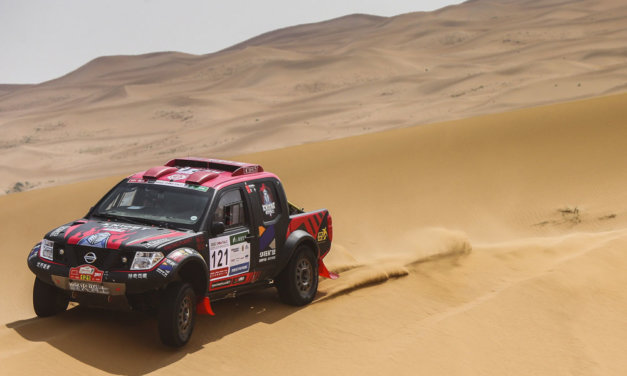 Aorigele se llevó la primera etapa del Dakar Series China Rally