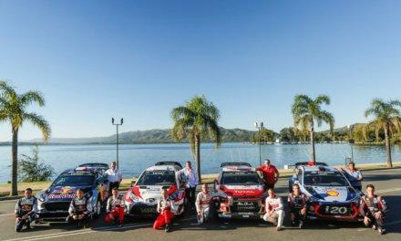 Todo listo para el Rally de Argentina 2017