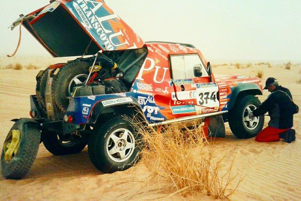 Sport Drive Dakar, un equipo aventurero de amigos