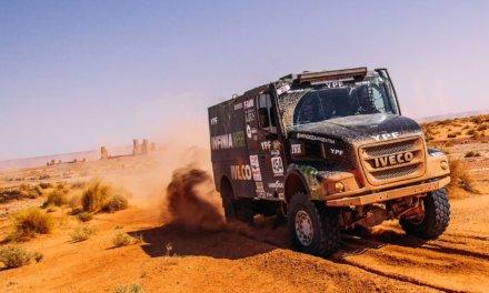 Federico Villagra fue el mejor en la segunda etapa del Rally OiLibya