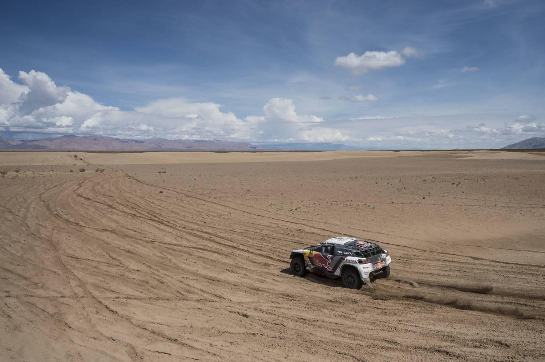 Paisajes del Dakar 2017. Dakar 2017. Foto de Marcelo Maragni Red Bull Content Pool