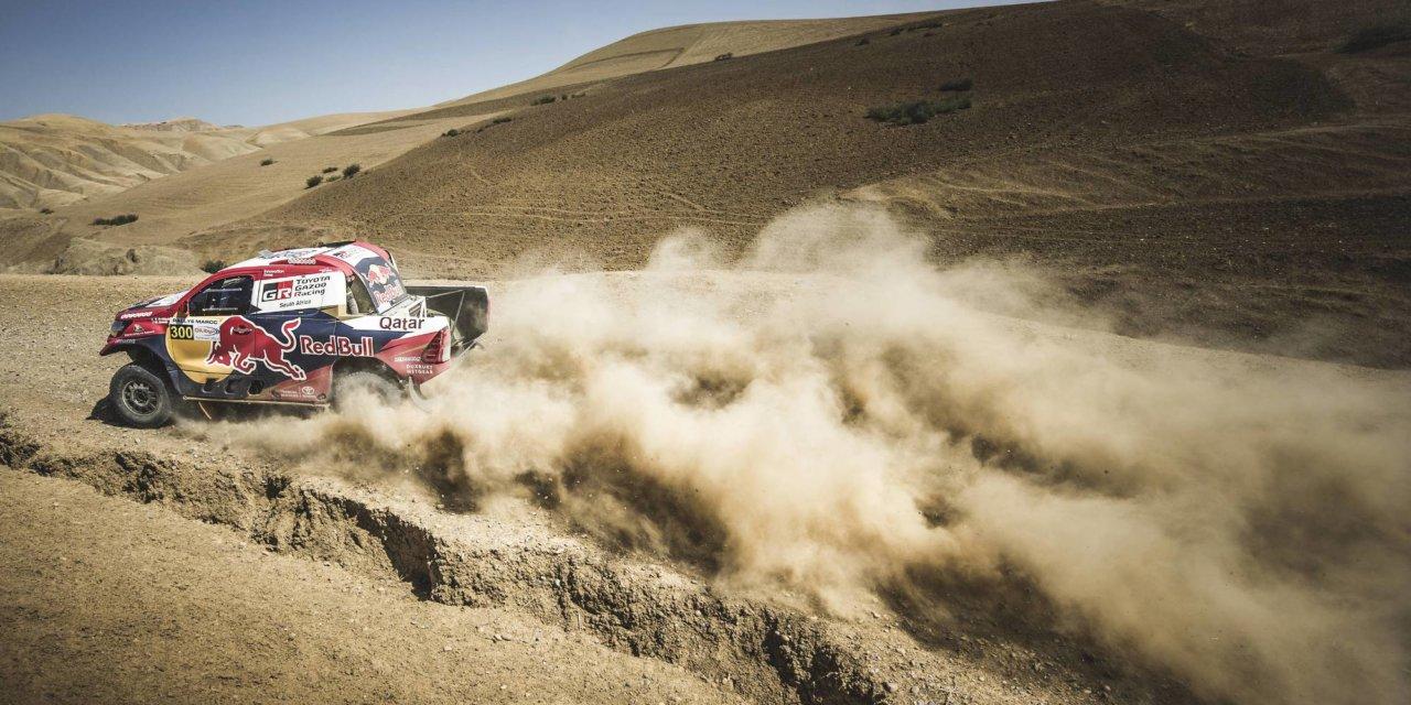 Nasser sigue ganado y pasa a Loeb en la general de Marruecos