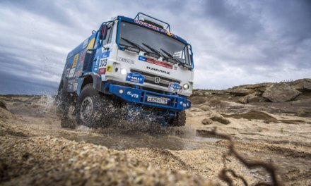 Kamaz presentó su flota para el Dakar 2018