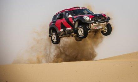MINI presenta equipo completo en el Rallye OiLibya du Maroc