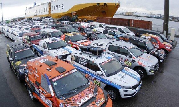 Más de 600 vehículos pasaron la verificación técnica en Le Havre