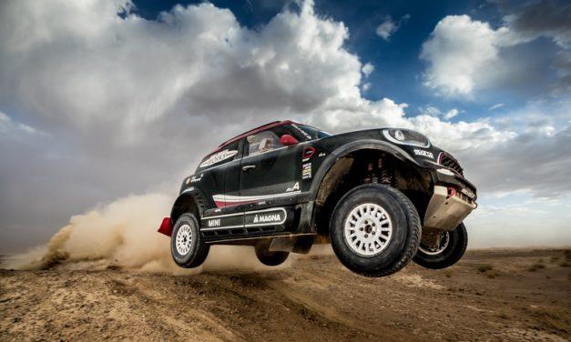MINI presenta un hermoso buggy para el Dakar 2018