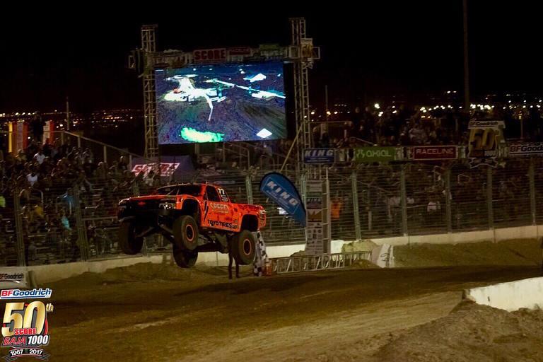 Robby Gordon ganó la clasificación de la Score Baja 1000. Foto: Score International