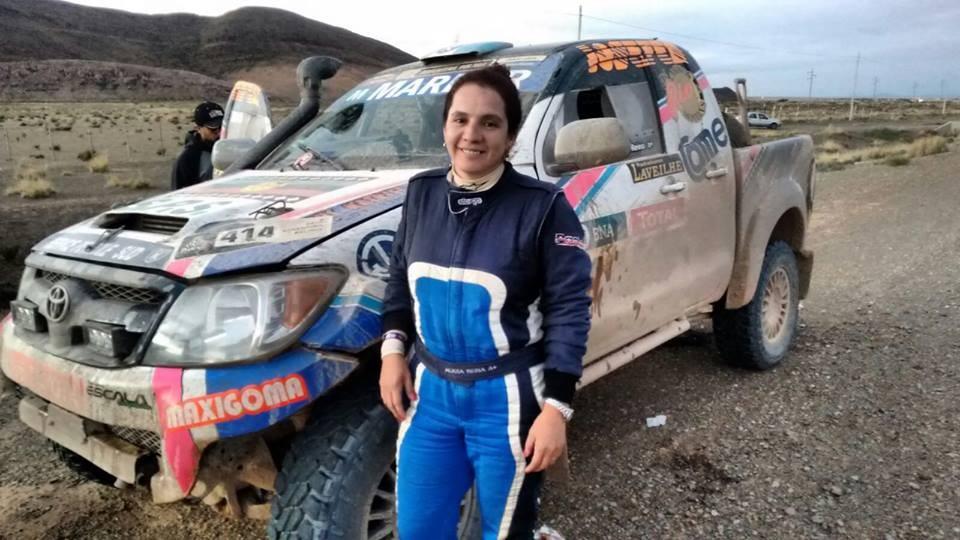 Alicia Reina, la piloto argentina más destacada del Dakar