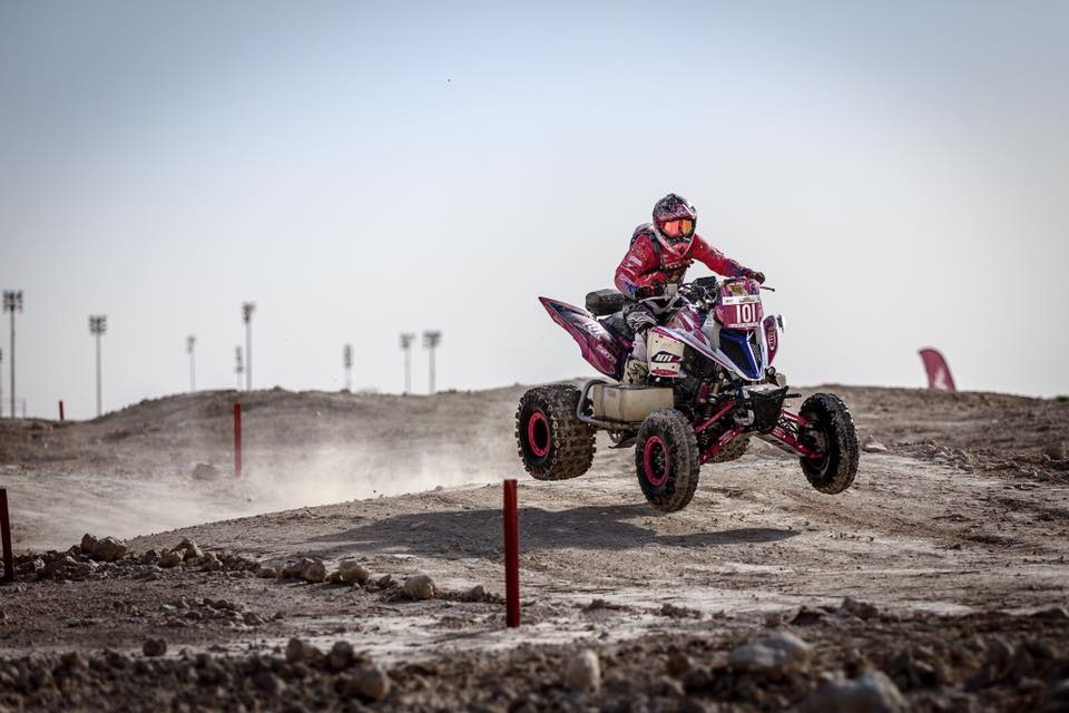 Camelia Liparoti es otra de las representantes femeninas del Rally Dakar