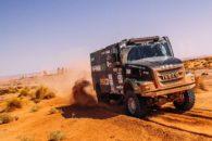 El Coyote Villagra vuelve a comandar el único camión argentino del Dakar