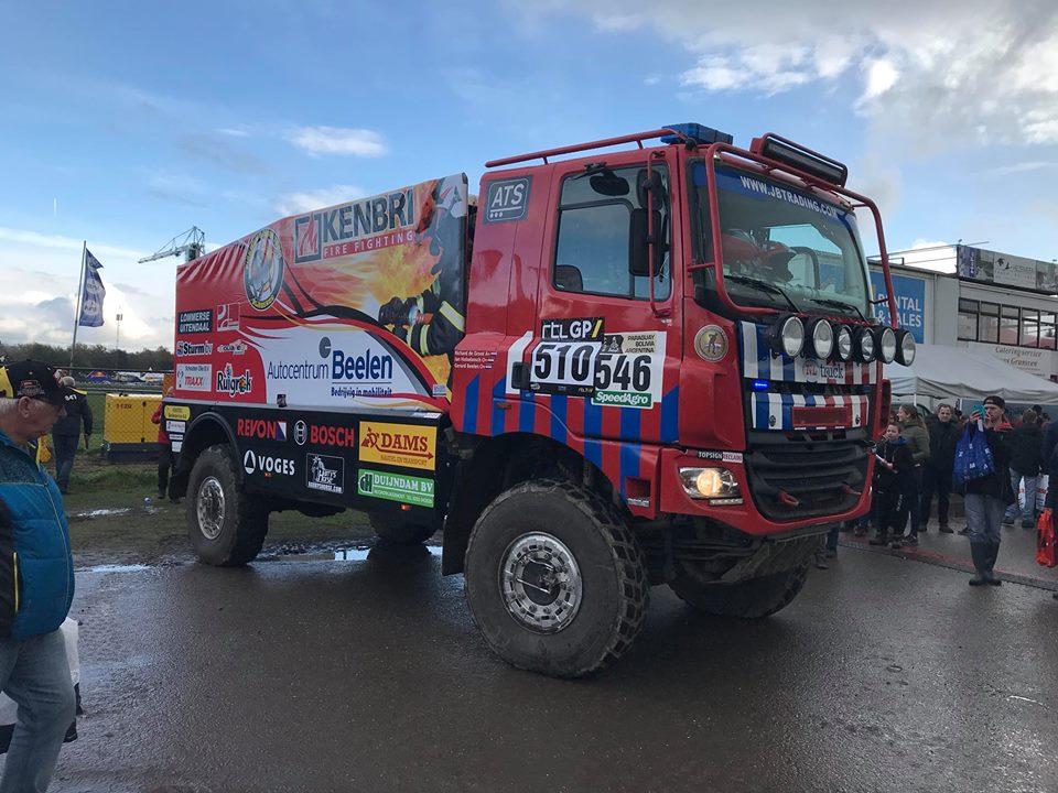 Foto Firemen Dakar Team Facebook / Preproloog