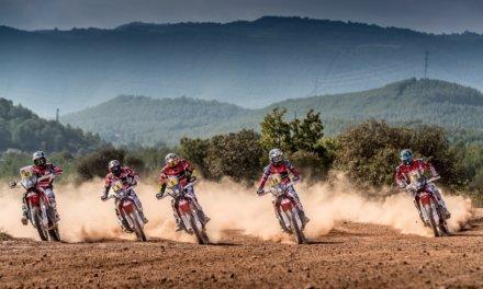 Honda muestra sus primeras cartas para el Dakar 2018