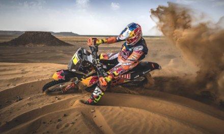 Video: Sam Sunderland probó la nueva KTM 450 Rally para el Dakar 2018
