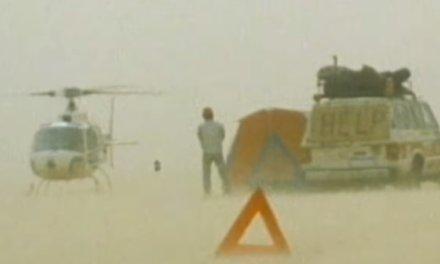 La brutal tormenta de arena durante el Dakar 1986 en África