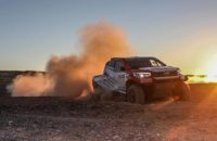 Toyota oficializó su tridente para el Dakar 2018