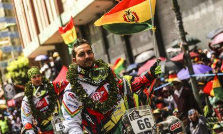 Los pilotos bolivianos para el Dakar 2018