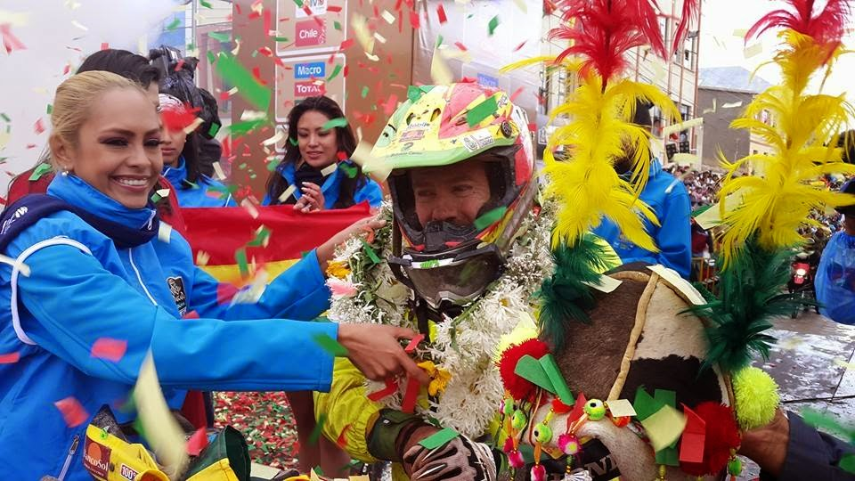 Walter Nosilgia, otro de los candidatos bolivianos