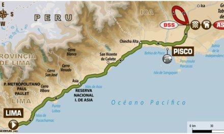 Dakar 2018, el recorrido del día: Etapa 1 Lima-Pisco