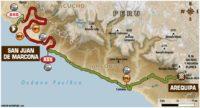 Recorrido de la etapa 5 del Dakar 2018
