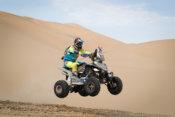 Axel Dutrie sorprende y se lleva la séptima especial del Dakar 2018