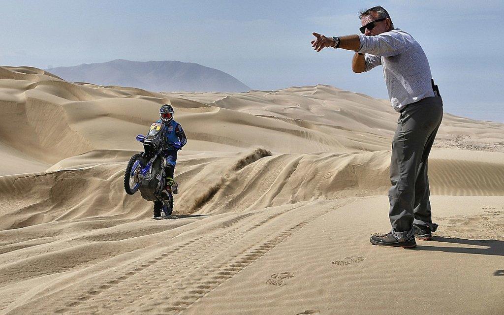 Los chilenos van con todo para dominar el Dakar — Terminó el descanso