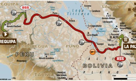 El recorrido de la etapa 6 del Rally Dakar 2018