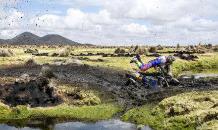 Franco Caimi abandonó el Dakar 2018 tras una gran primera semana