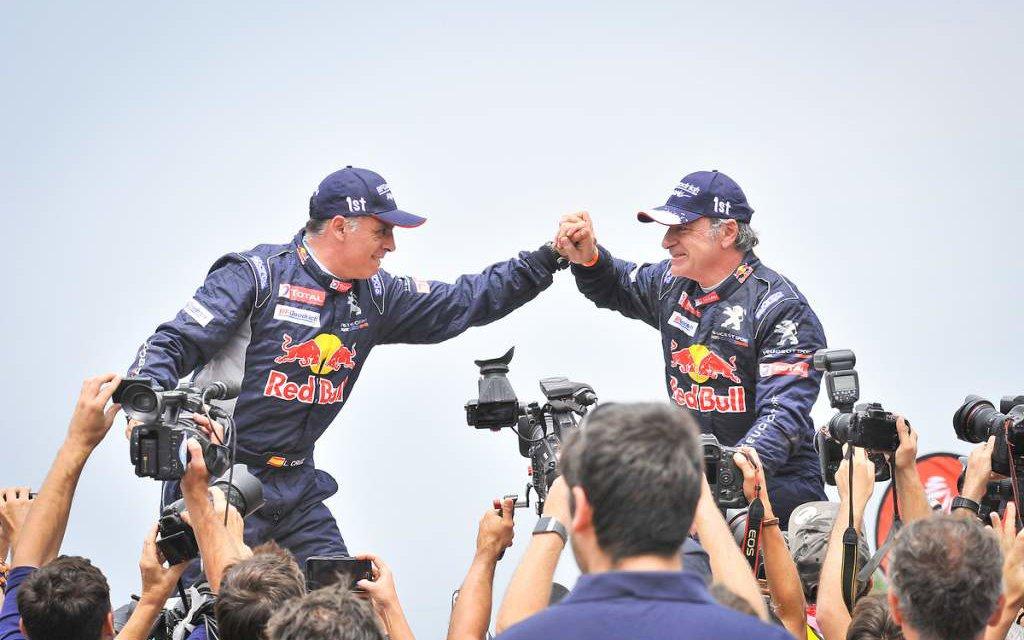 Carlos Sainz campeón del Dakar 2018